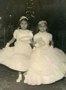 meine Schwester Mariel und ich