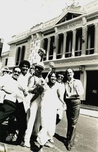Maritza Gutti und Jorge Jara, jede auf meiner Seite (schon verstorben). Auch Mario Delgado, Jaime Lema und Eduardo Llanos